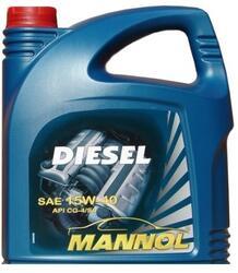 Моторное масло MANNOL Diesel 15W40 DL50585