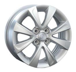 Автомобильный диск литой Replay KI56 6x15 4/100 ET 48 DIA 54,1 Sil