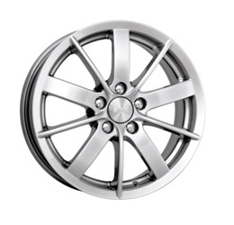 Автомобильный диск литой K&K Питер AL 6x15 5/105 ET 39 DIA 56,6 Блэк платинум