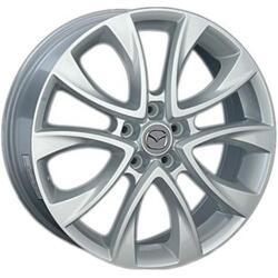 Автомобильный диск литой LegeArtis MZ39 7x17 5/114,3 ET 52,5 DIA 67,1 Sil