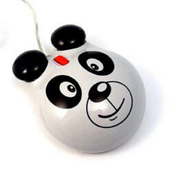 Мышь проводная Мышь детская оптическая (Панда)
