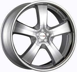 Автомобильный диск Литой MAK G-Five 9x22 6/139,7 ET 20 DIA 112 Hyper Silver Steel Lip