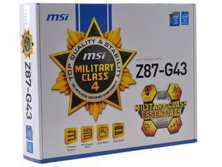 Материнская плата MSI Z87-G43