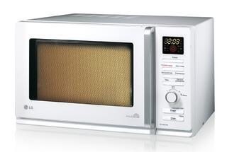 Микроволновая печь LG MC-8087AR ( 30л, комби 2550Вт, гриль, электронное управление, дисплей)
