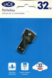 Память USB 2.0 LaCie PetiteKey 32 Gb