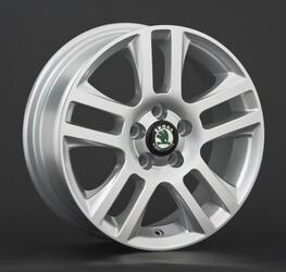 Автомобильный диск литой Replay SK2 6x15 5/114,3 ET 49 DIA 67,1 Sil