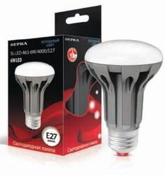 Лампа светодиодная Supra SL-LED-PR-R63-8W/4000/E27