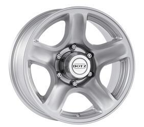 Автомобильный диск Литой Dotz Hammada 8x17 6/139,7 ET 20 DIA 110