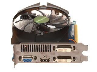 Видеокарта GIGABYTE GeForce GT 740 [GV-N740D5OC-1GI 1.0] 1 Гб  GDDR5