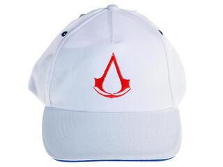 Бейсболка Assassin's Creed - Crest белый, красный