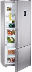 Холодильник с морозильником Liebherr CBNes 4656-20 серебристый