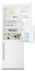 Холодильник с морозильником Electrolux EN3401AOW белый