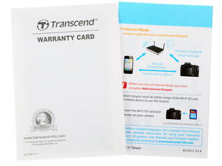 Карта памяти Transcend SDHC 16 Гб