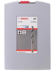 Набор сверл Bosch Pro Box HSS-R 2608587012