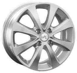 Автомобильный диск Литой LegeArtis GM40 6x15 4/100 ET 45 DIA 56,6 Sil