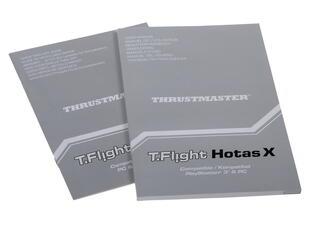 Джойстик ThrustMaster T Flight Hotas X черный
