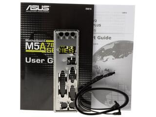 Плата ASUS Socket-AM3+ M5A78L-M LX V2 (125W CPU) AMD760G/SB710 2xDDR3-1866 PCI-E DSub 8ch 6xSATA RAID COM LPT GLAN mATX