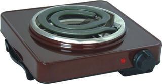 Плитка электрическая Ока 1 коричневый