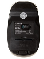 Мышь беспроводная Dexp MR0301 Blue Light