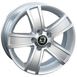 Автомобильный диск Литой Replay SK17 6x15 5/100 ET 40 DIA 57,1 Sil