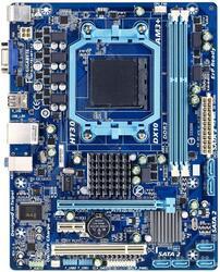 Плата Gigabyte Socket-AM3+ GA-78LMT-S2 AMD760G/SB710 2xDDR3-1333 PCI-E DSub 8ch 6xSATA RAID GLAN mATX OEM