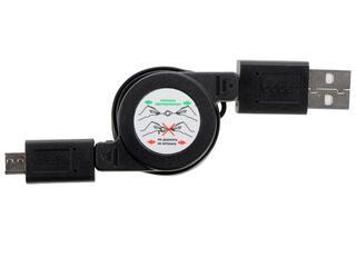 Кабель Deppa 72102 USB - micro USB черный
