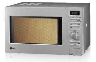 Микроволновая печь LG MB-4088W ( 20л, комби 2150Вт, гриль, электронное управление, дисплей)