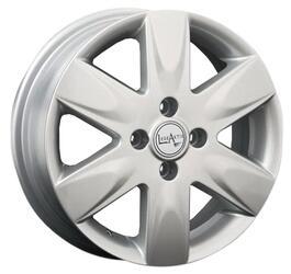 Автомобильный диск Литой LegeArtis NS43 5,5x15 4/100 ET 45 DIA 60,1 Sil