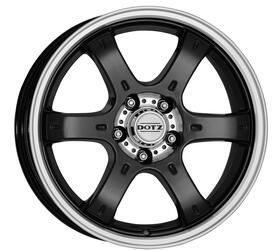 Автомобильный диск Литой Dotz Crunch 8x18 5/114,3 ET 35 DIA 71,6 Dark
