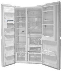 Холодильник LG GR-M247QGMH белый