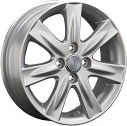 Автомобильный диск Литой Replay TY51 5,5x15 4/100 ET 45 DIA 54,1 Sil