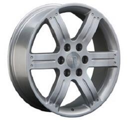 Автомобильный диск литой Replay MI34 8,5x20 6/139,7 ET 46 DIA 67,1 Sil
