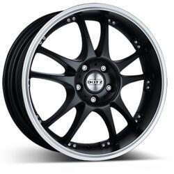 Автомобильный диск Литой Dotz Brands Hatch 7x17 4/100 ET 38 DIA 60,1 Dark