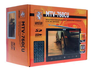 Автомобильный телевизор Mystery MTV-760CU
