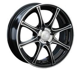 Автомобильный диск Литой LS 151 6x15 4/114,3 ET 40 DIA 73,1 BKF