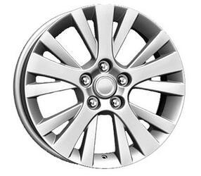 Автомобильный диск  K&K КС502 7x17 5/114,3 ET 60 DIA 67,1 Сильвер