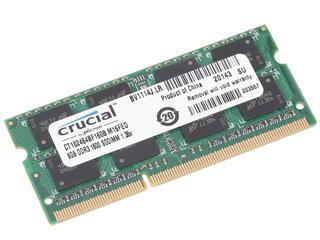 Оперативная память SODIMM Crucial [CT102464BF160B] 8 Гб