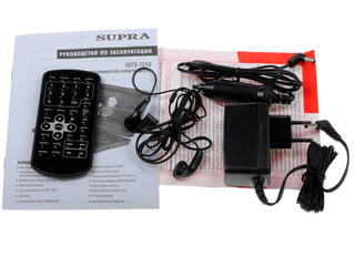 Портативный видеоплеер Supra SDTV-725U