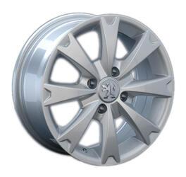 Автомобильный диск Литой LegeArtis PG16 6,5x15 4/108 ET 27 DIA 65,1 Sil