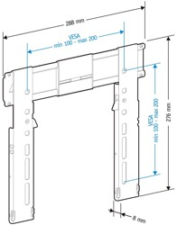 Кронштейн для телевизора Holder LEDS-7011