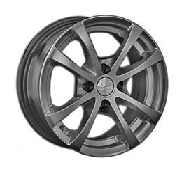 Автомобильный диск Литой LS ZT239 6x14 4/98 ET 35 DIA 58,6 GM