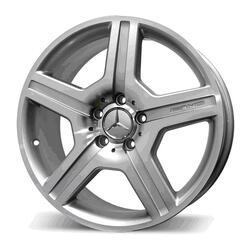 Автомобильный диск Литой Replay MR47 10x22 5/112 ET 50 DIA 66,6 Sil