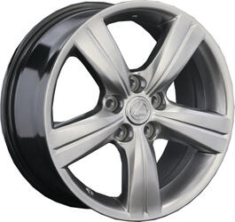 Автомобильный диск Литой Replay LX10 7,5x17 5/114,3 ET 45 DIA 60,1 Sil