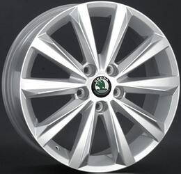 Автомобильный диск литой Replay SK38 7x17 5/112 ET 45 DIA 57,1 Sil