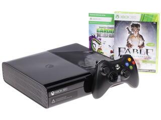 Игровая приставка Microsoft Xbox 360 + Plants vs Zombies, Fable Anniversary