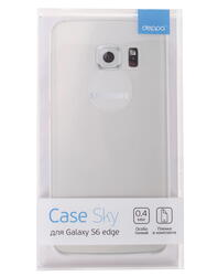 Накладка  Deppa для смартфона Samsung Galaxy S6 Edge