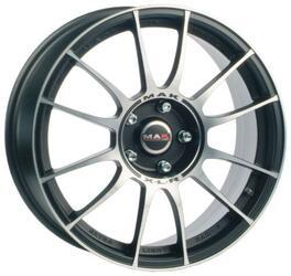 Автомобильный диск Литой MAK XLR 7x17 4/100 ET 40 DIA 72 Ice Black