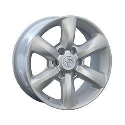Автомобильный диск Литой Replay TY64 7,5x17 6/139,7 ET 25 DIA 106,1 Sil
