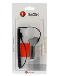 Автомобильное зарядное устройство InterStep D800
