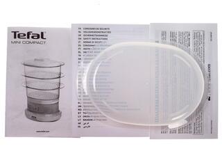 Пароварка Tefal VC130130 Minicompact белый